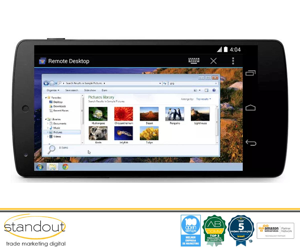 Chrome Remote Desktop para Android agora com suporte a áudio